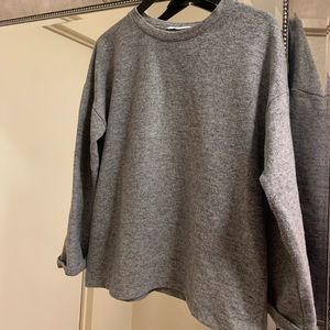 Zara Crew Neck Sweatshirt